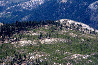 Fire Damage from Half Dome