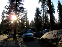 Our Campsite at Dorst Creek