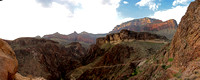 Overlook on the Bright Angel Trail