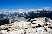 Overlook from Half Dome